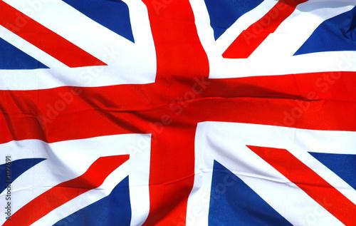 Valokuvatapetti british national flag