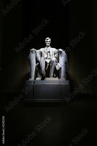 Photo lincoln memorial statue