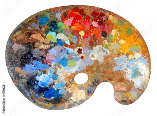 Photo artist's palette
