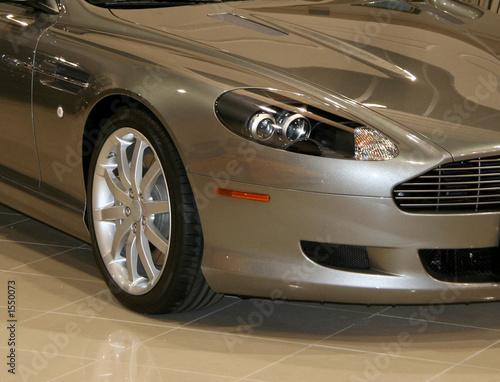 Obraz na plátně exotic silver car