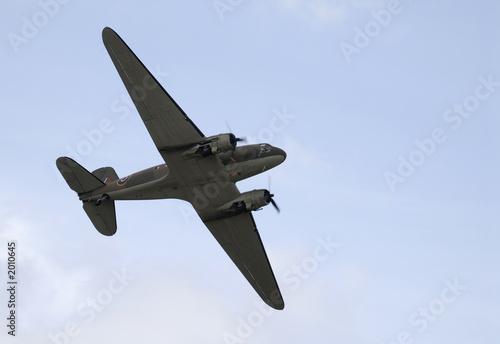 Obraz na plátně douglas c-47 dakota