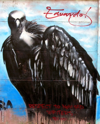 Fototapeta premium orzeł graffiti