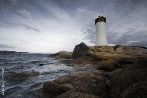 Canvas Print lighthouse