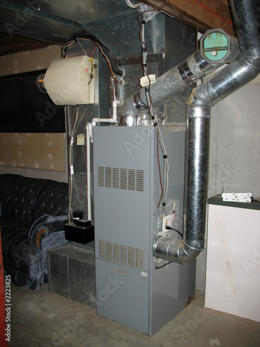 Canvas Print furnace