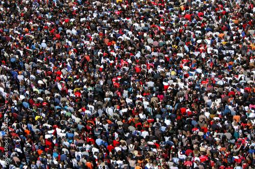Obraz na płótnie huge crowd