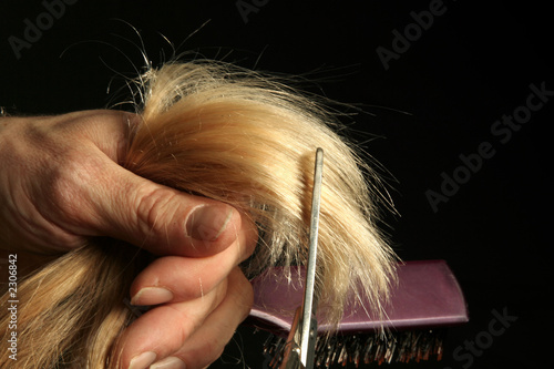 Fotografia coupe coiffeur