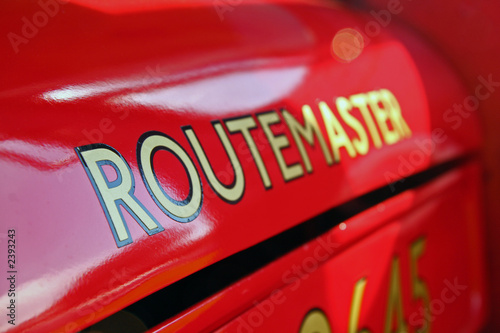 Photo route master bus