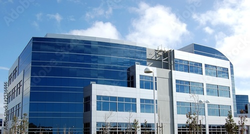 Valokuva modern office building