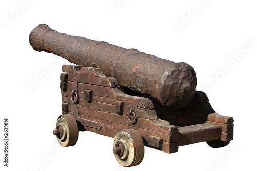 Obraz na płótnie ancient cannon