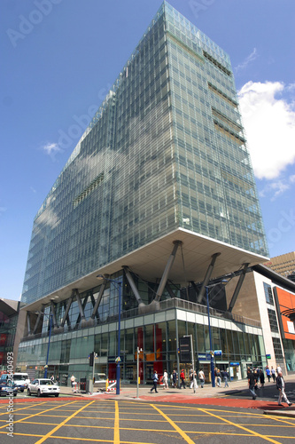 Wallpaper Mural Modern Apartment Building, Deansgate, Manchester