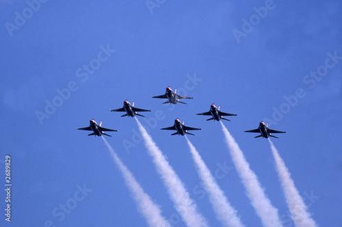Wallpaper Mural air force jets