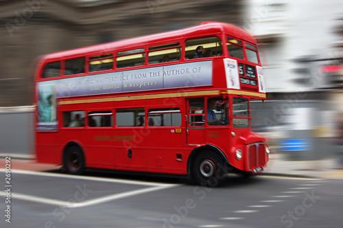 Canvas Print london bus