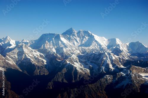 Plakat  Góra Mt Everest - Dach świata