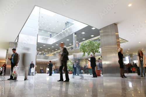 Fotografia business hall