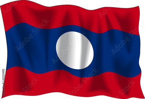 flag of laos #3225492