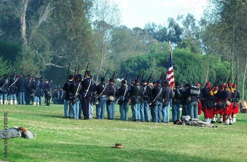 Obraz na płótnie civil war