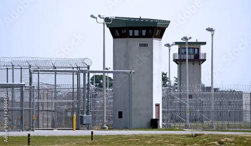 Fotografia prison - guard tower