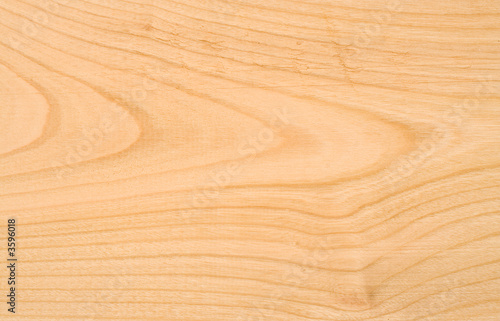 Tablou Canvas Unpolished beech wood texture without knots