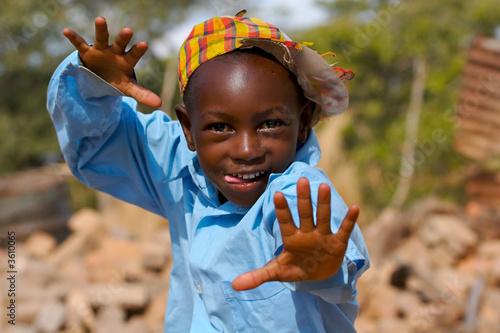 Fotografia Happy African boy