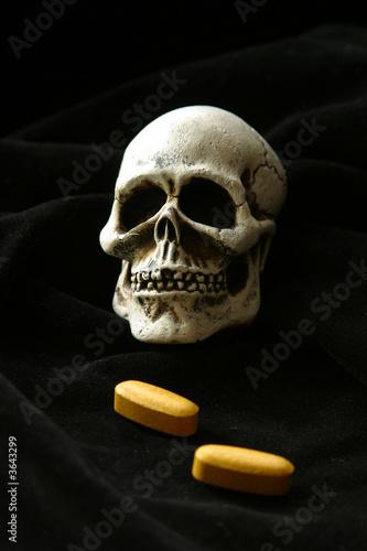 Canvastavla Dose of death