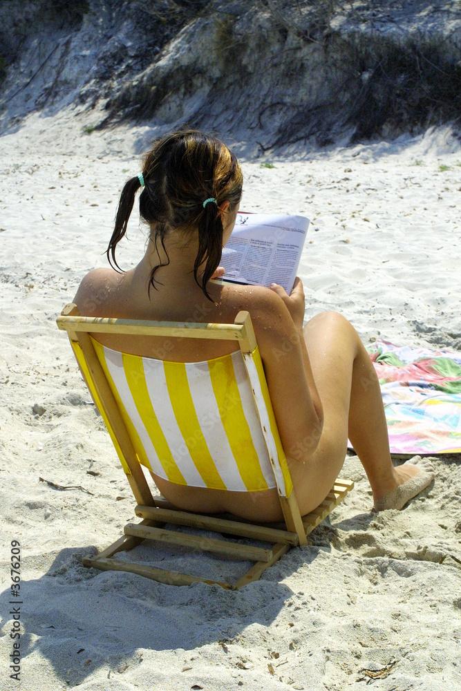 Girl nude beach Naturist Beach