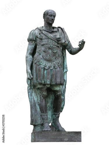 Fotografia Roman emperor Julius Caesar statue