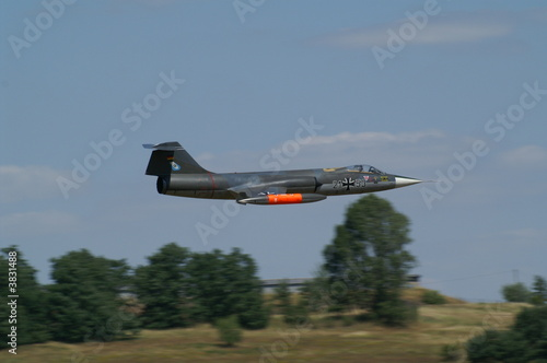 Wallpaper Mural F-104 Starfighter - Modellflugzeug