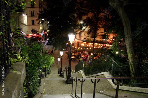 Montmartre la nuit - Paris #3883800