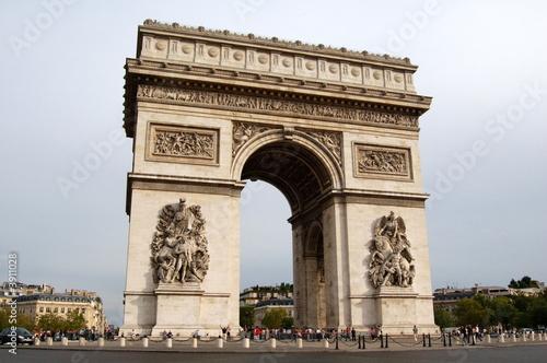 Canvas Print Arc de Triomphe
