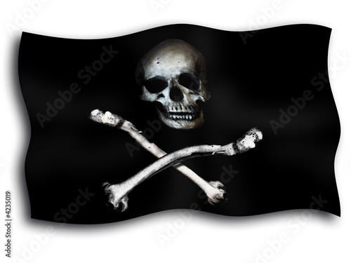 Fotografia drapeau pirate