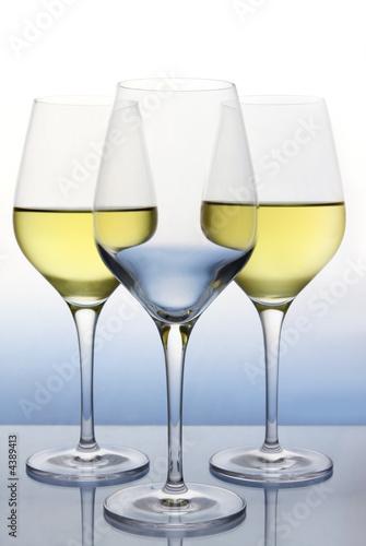 Obraz na plátně Bílé víno