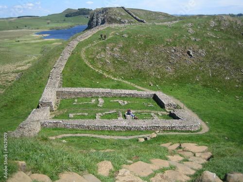 Obraz na płótnie Hadrian's Wall Mile Castle