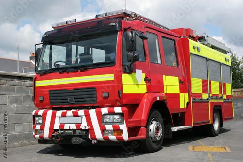 Fotografia, Obraz British Fire Engine