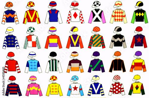 Jockey Uniforms Fototapeta