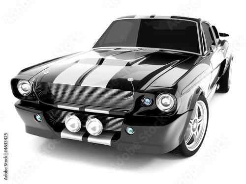 фотография Black Classical Sports Car
