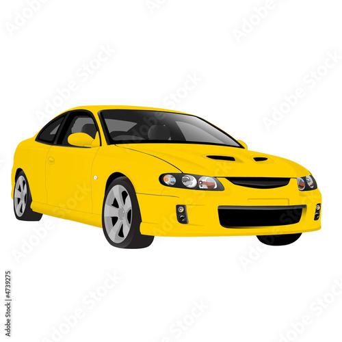 Fotografie, Obraz Sports Car