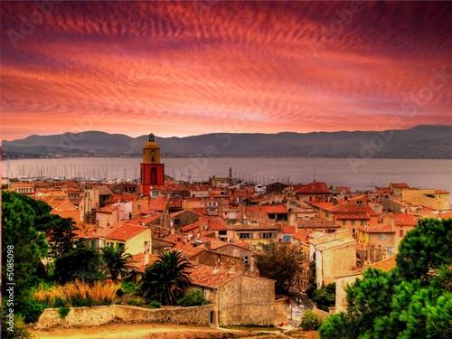 Obraz na plátně Saint-Tropez - Côte d'Azur