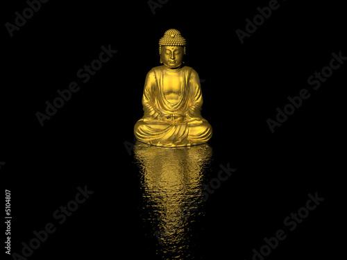 Leinwand Poster buddha
