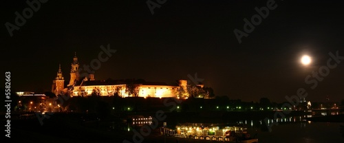 Wawel castle by night #5582663