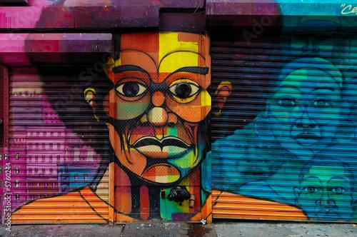 Fototapeta premium Harlem Graffiti