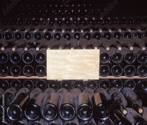 Fotografia Wine cellar st emilion gironde aquitaine france.