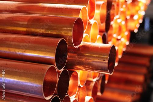 Vászonkép Copper Tube