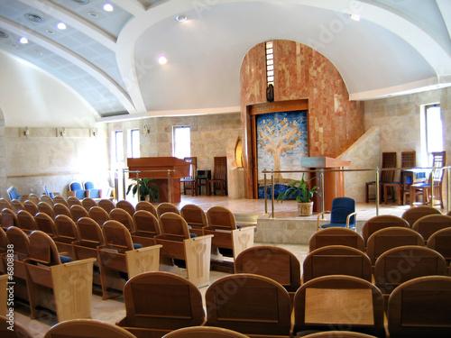 Fotografie, Obraz Modern Synagogue