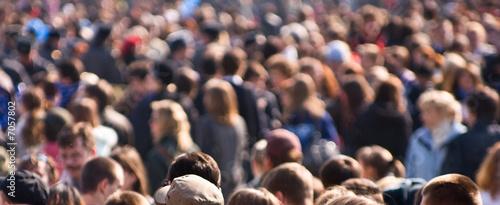 Obraz na płótnie Crowd