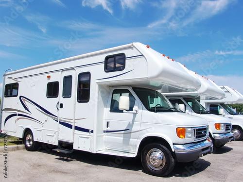 New recreational vehicles Fototapeta