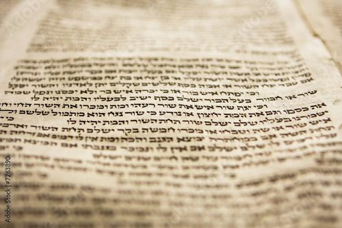 Fototapeta One Line Of Torah