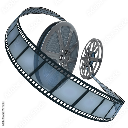 Film Reel. Concept of Industry cinematographic. #7341268