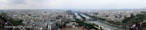 Paris, panorama, south-west #7463633