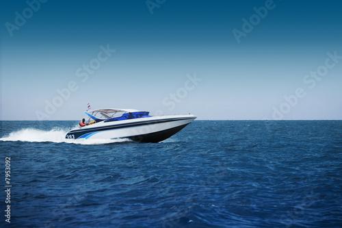 Carta da parati Fast motorboat