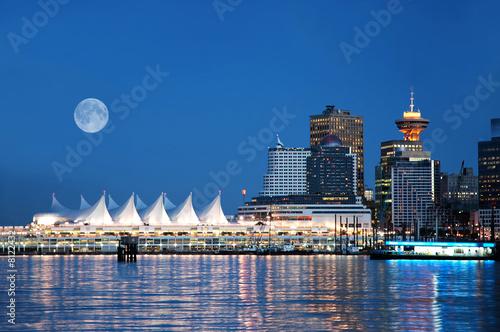 Fototapeta premium Canada Place, Vancouver, BC, Kanada